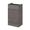 Hudson Reed 500x355mm Grey Avola Full Depth Drawer Line Unit profile small image view 1