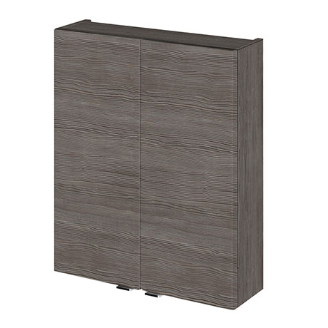 Hudson Reed 500x182mm Grey Avola Fitted Wall Unit