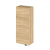 Hudson Reed 300x182mm Natural Oak Fitted Wall Unit profile small image view 1