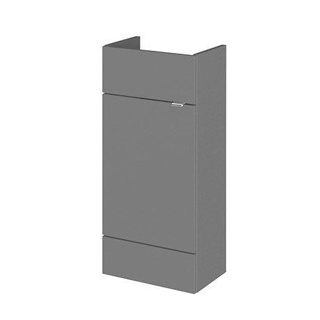 Hudson Reed 400x255mm Gloss Grey Compact Vanity Unit