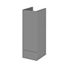 Hudson Reed 300x355mm Gloss Grey Full Depth Base Unit Medium Image