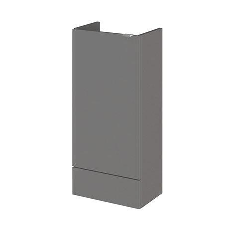 Hudson Reed 400x255mm Gloss Grey Compact Base Unit