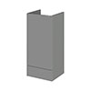 Hudson Reed 400x355mm Gloss Grey Full Depth Base Unit Medium Image