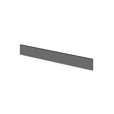 Hudson Reed 1250mm Gloss Grey Plinth