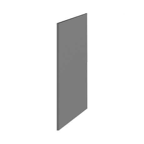 Hudson Reed 370mm Gloss Grey Decorative End Panel