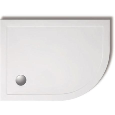 Zamori - 35mm Offset Quadrant Shower Tray - Right Hand - ZAM-RH-OFF