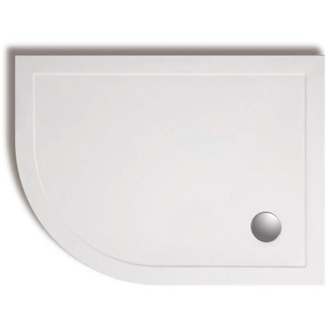 Zamori - 35mm Offset Quadrant Shower Tray - Left Hand - ZAM-LH-OFF