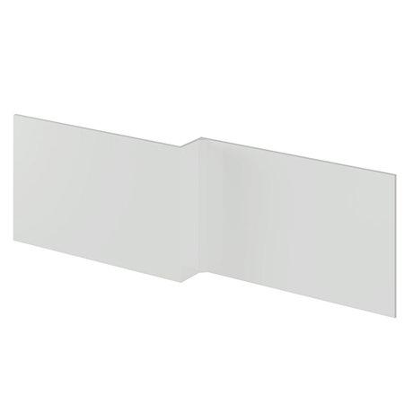 Nuie Athena 1700 Grey Mist L-Shaped Front Bath Panel