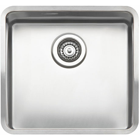 Reginox Ohio 40x40 1.0 Bowl Stainless Steel Kitchen Sink