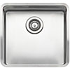 Reginox Ohio 40x40 1.0 Bowl Stainless Steel Kitchen Sink profile small image view 1