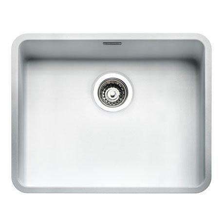 Reginox Ohio 50x40 1.0 Bowl Stainless Steel Kitchen Sink - White