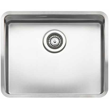 Reginox Ohio 50x40 1.0 Bowl Stainless Steel Kitchen Sink