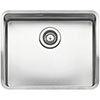 Reginox Ohio 50x40 1.0 Bowl Stainless Steel Kitchen Sink profile small image view 1