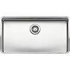 Reginox Ohio 80x42 1.0 Bowl Stainless Steel Kitchen Sink profile small image view 1