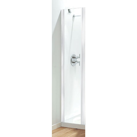 Coram - Optima Inline Panel - White - Various Size Options