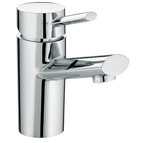 Bristan - Oval 1 Hole Bath Filler - Chrome - OL-1HBF-C