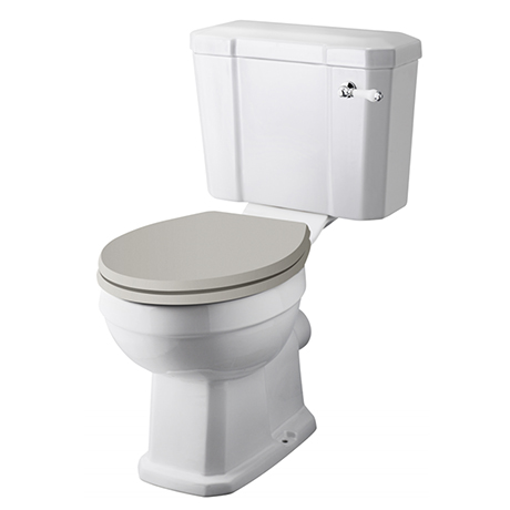 Old London Richmond Comfort Height Close Coupled Toilet (excl. Seat)
