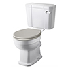 Old London Richmond Comfort Height Close Coupled Toilet (excl. Seat) profile small image view 1