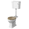 Old London Richmond Mid-Level Traditional Toilet + Soft Close Seat profile small image view 1