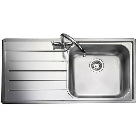 Rangemaster Oakland 1.0 Bowl Stainless Steel Kitchen Sink