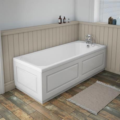 york white ash traditional front bath panel & plinth