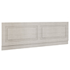 York 1700mm Grey Traditional Front Bath Panel & Plinth profile small image view 1
