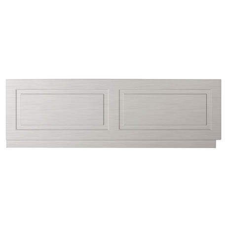 York Grey Traditional Front Bath Panel & Plinth - 1700mm