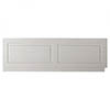 York Grey Traditional Front Bath Panel & Plinth - 1700mm Medium Image