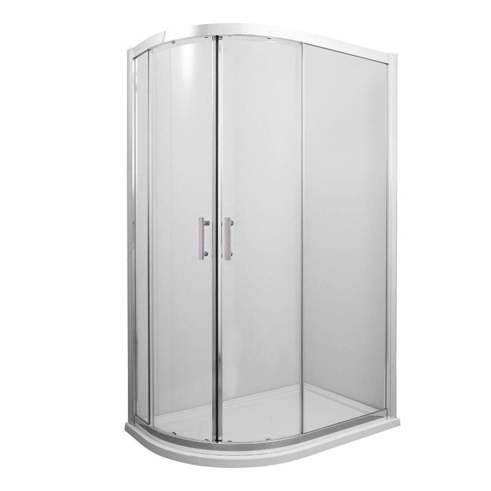 Old London - Offset Quadrant Shower Enclosure - 900 x 1200mm - OLSEOQ9 profile large image view 1