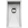 Reginox Ontario 18x40 1.0 Bowl Stainless Steel Integrated Kitchen Sink profile small image view 1