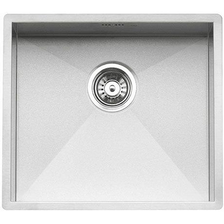 Reginox Ontario 50x40 1.0 Bowl Stainless Steel Integrated Kitchen Sink