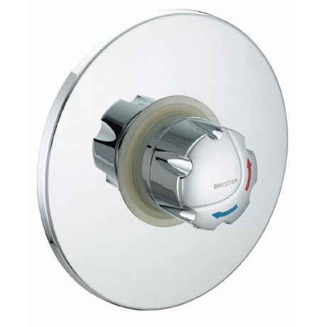 Bristan - Opac Thermostatic Concealed Shower Valve with Chrome Handwheel - OP-TS1503-CH-C
