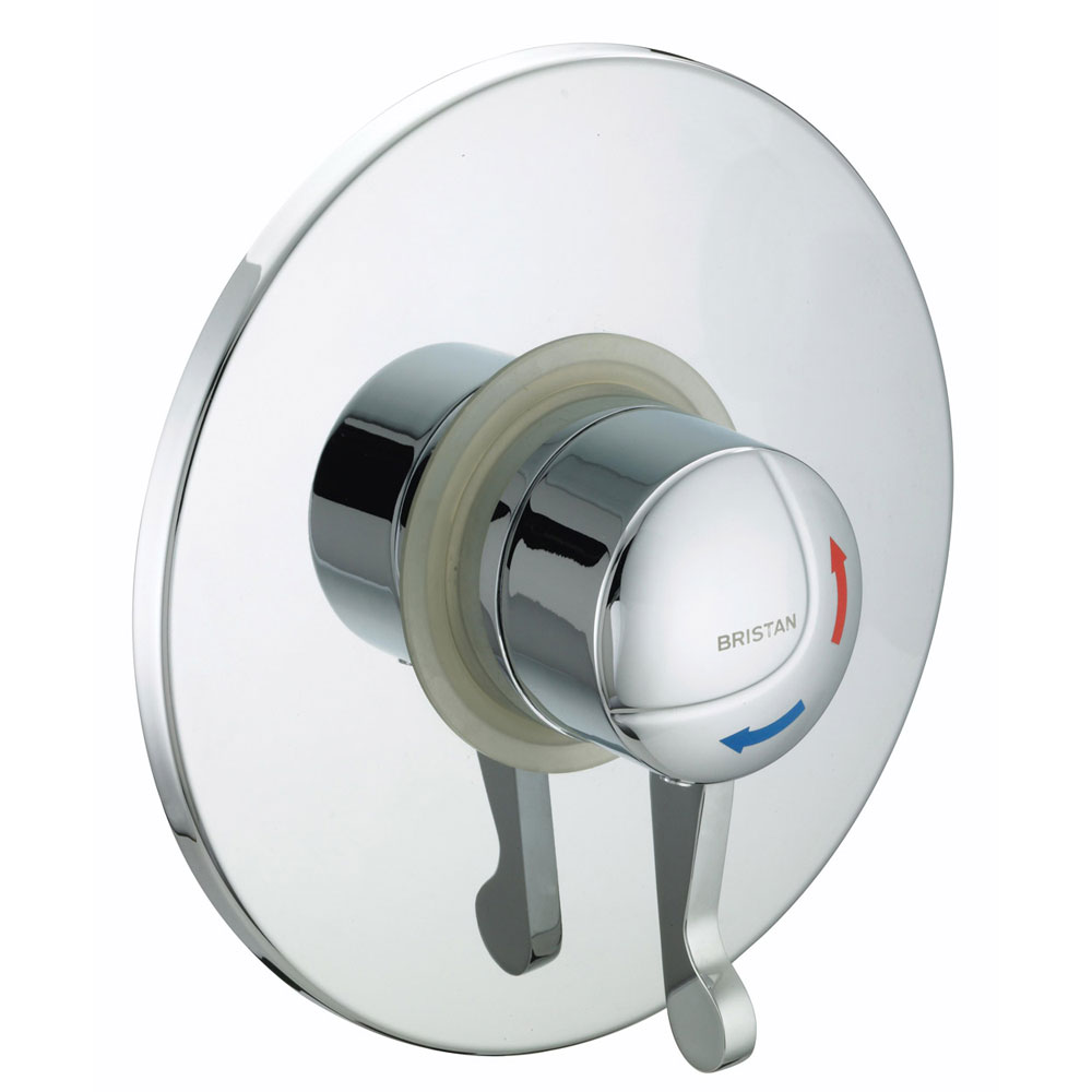 Bristan - Opac Thermostatic Concealed Shower Valve with Chrome Lever - OP-TS1503-CL-C profile large image view 1