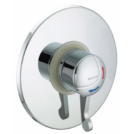 Bristan - Opac Thermostatic Concealed Shower Valve with Chrome Lever - OP-TS1503-CL-C