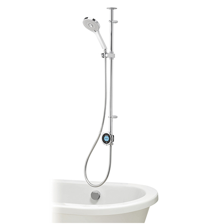 Aqualisa Optic Q Smart Shower Exposed with Adjustable Head and Bath Filler