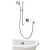 Aqualisa Optic Q Smart Shower Concealed with Adjustable Head and Bath Filler profile small image view 1