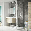 Coram Optima 3 Sided Square Shower Enclosure profile small image view 1