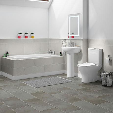 Orion Small 5-Piece Bathroom Suite