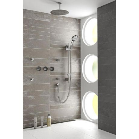 Bristan Orb Recessed Dual Control Shower Pack