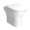 Orion Modern Back To Wall Pan + Soft Close Seat profile small image view 1