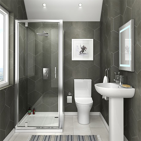 Orion Space-Saving En-Suite Bathroom
