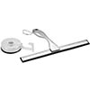 Orion Quick Lock Shower Squeegee & Hook profile small image view 1