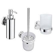 Orion Bathroom Accessories Set - Chrome Medium Image