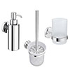 Orion Bathroom Accessories Set - Chrome Small Image