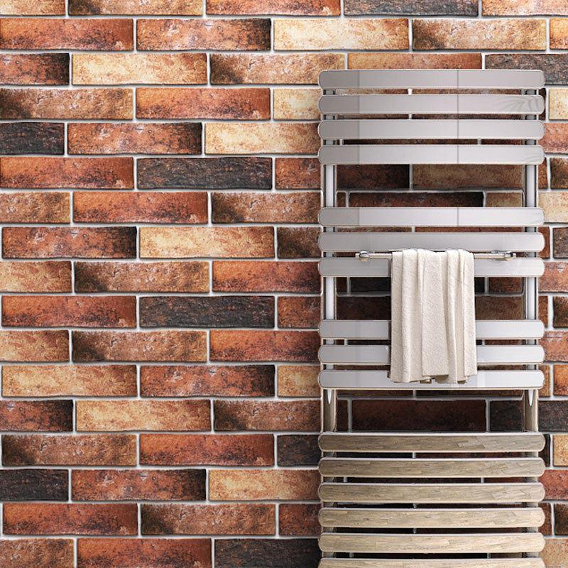 Orlando Red Porcelain Wall Tile - 75 x 300mm Large Image