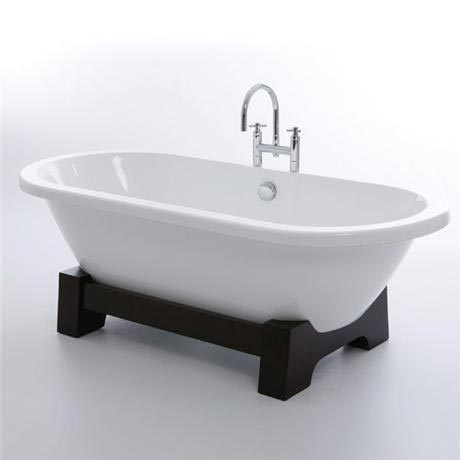 Royce Morgan Osaka 1750 Luxury Freestanding Bath with Waste - Dark Oak