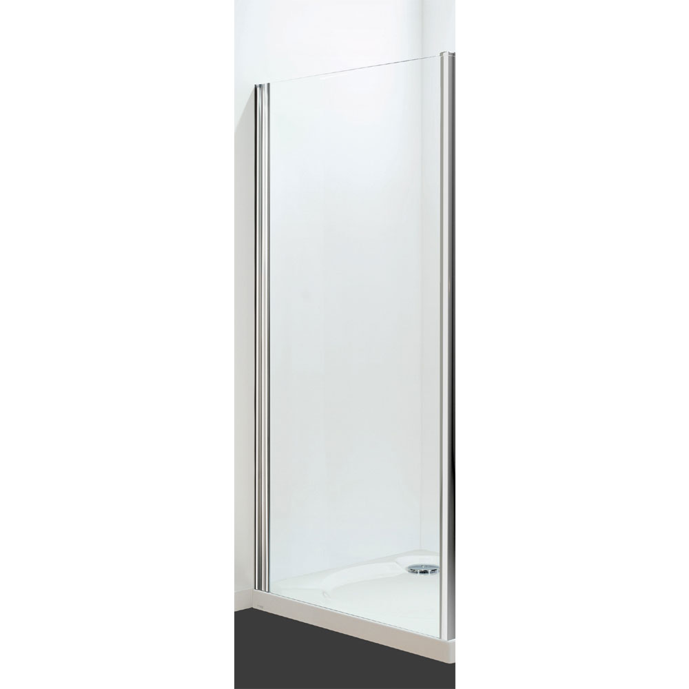 Coram - Optima Semi-Frameless Side Panel - Chrome - Various Size Options profile large image view 1