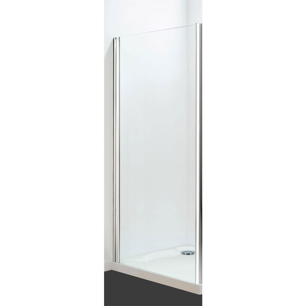 Coram - Optima Semi-Frameless Side Panel - White - Various Size Options profile large image view 1
