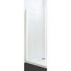 Coram - Optima Semi-Frameless Side Panel - White - Various Size Options profile small image view 1