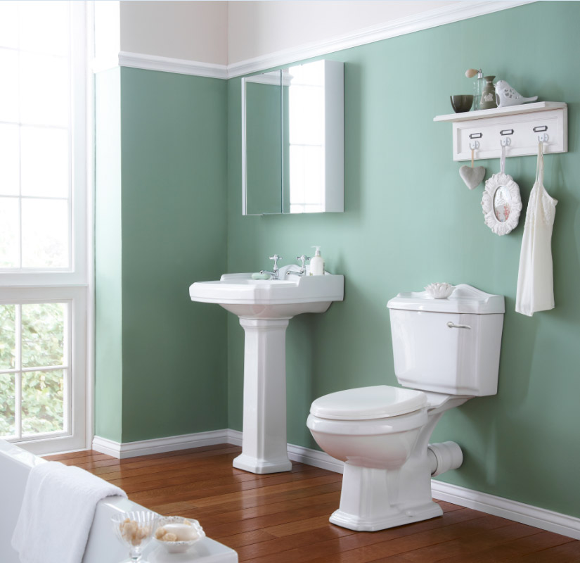 Oxford 4-Piece Traditional Bathroom Suite Large Image
